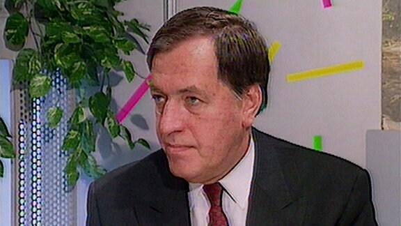 Vorstandssprecher der Deutschen Bank, Hilmar Kopper