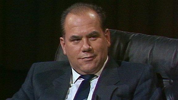 Der Vizepräsident der Staatsbank der DDR, Edgar Most