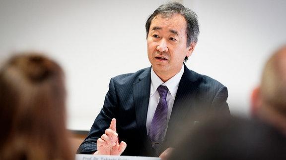 Nobelpreisträger Prof. Takaaki Kajita, Universität Tokio