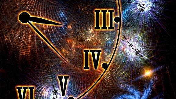Symbolbild: Relativitätstheorie Raumzeit