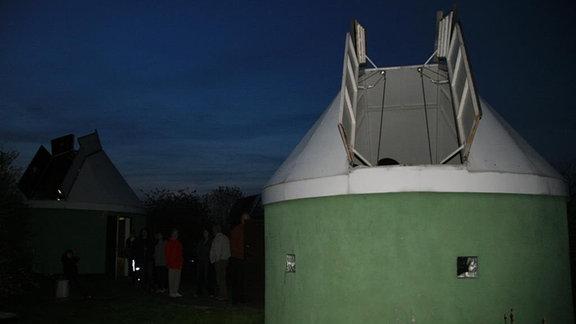 Ehemalige Sternwarte in Calden