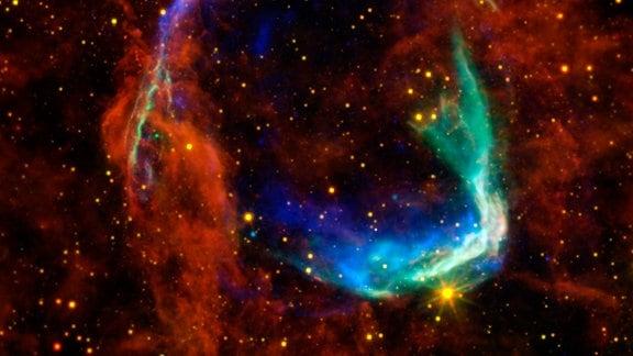 Die Überreste einer Supernova-Explosion