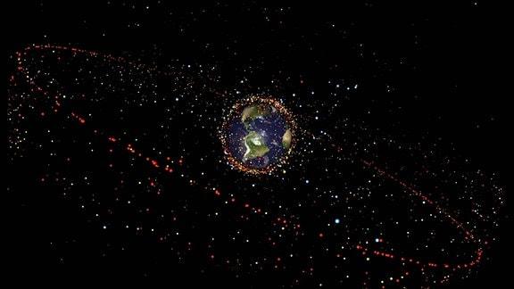 Weltraumschrott ESA