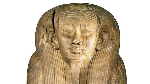 Sarg des Hed-bast-iru, Ägyptisches Museum Leipzig Sonderausstellung 2017