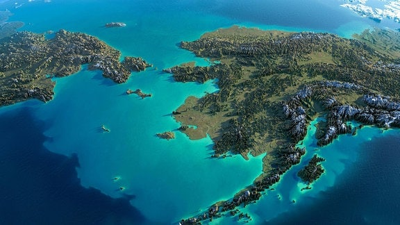 Alaska und die Beringsee