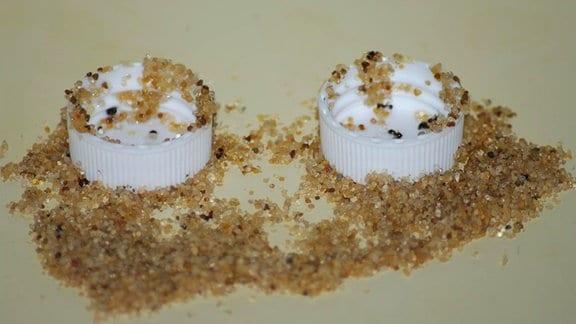 Ameisen an Zuckerwasser