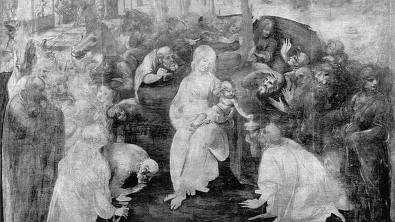 Leonardo da Vinci: Anbetung der Könige