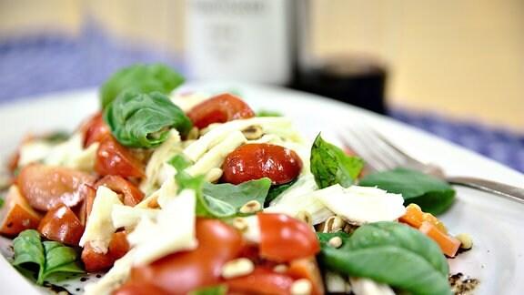 Tomaten-Mozarella-Salat