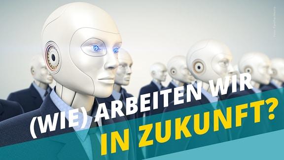 """Vorschaubild für die MDR Wissen Themenseite """"Wie arbeiten wir in Zukunft""""."""