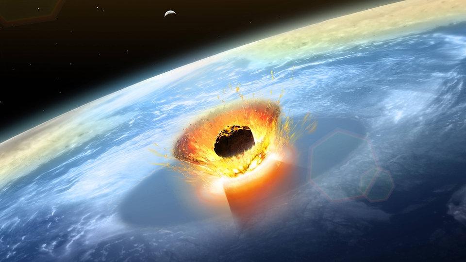 Chicxulub-Impaktor: Sonne und Jupiter machten Yucatan-Komet zum Dino-Killer - MDR