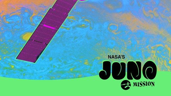 Poster Juni-Mission (Jupiter)