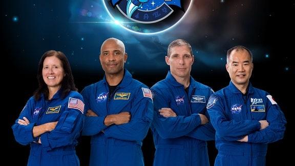 Die Besatzung von SpaceX Crew-1