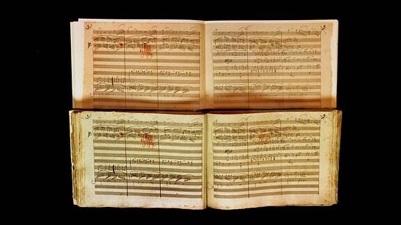 Originalnoten von Beethoven