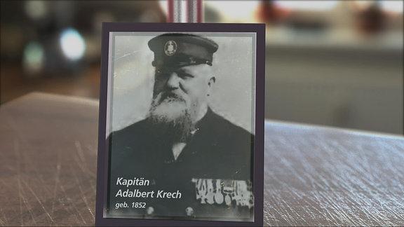 Das Bild eines Kapitäns