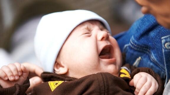 Ein weinendes Baby