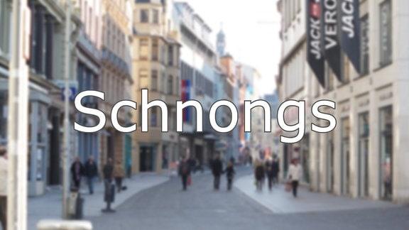 Hallisch - Schnongs