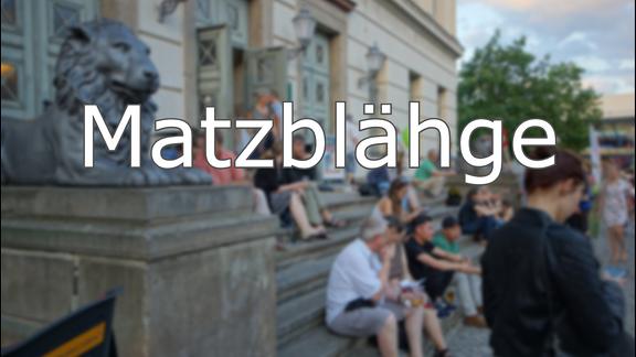 Hallisch - Matzblähge