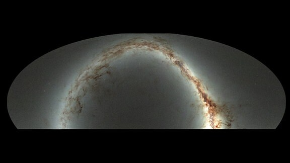 Das Vermessungsbild des Himmels vom Pan-STARRS1 Teleskopen-System auf Haiwaii