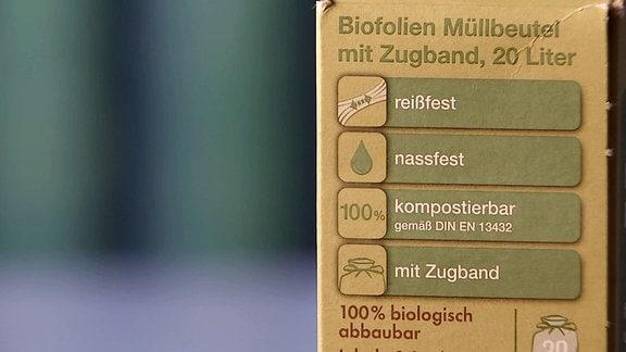 Biofolien Müllbeutel