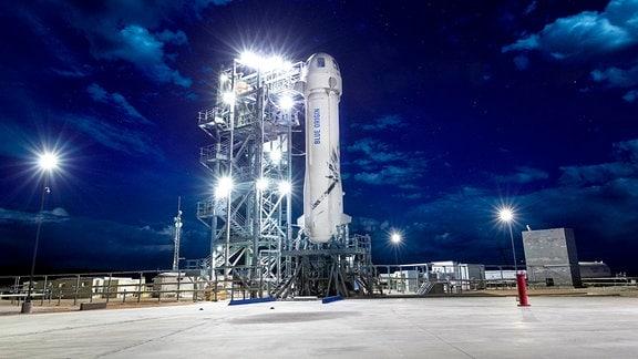 Blue Origin Rakete New Shepard