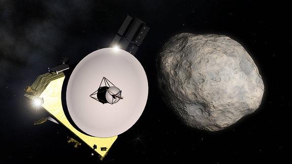 Sonde New Horizons fliegt an 2014 MU69 vorbei