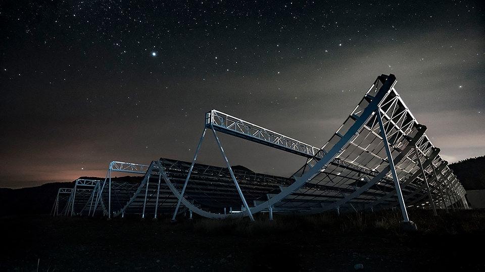 Mit der Halfpipe das All erforschen: Neue Teleskope für die Astronomie - MDR
