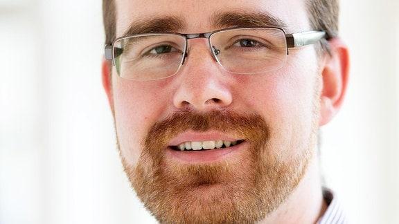 Porträtfoto von Dr. Christian Sander, , Diplompsychologe und stellvertretender Geschäftsführer der Stiftung Deutsche Depressionshilfe