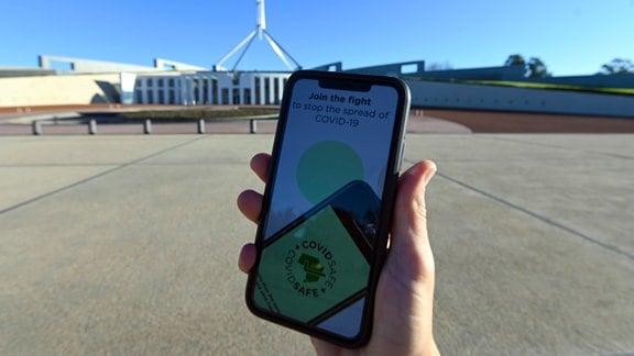 Corona App Australien