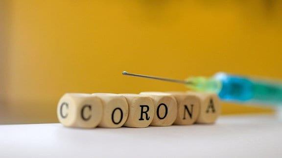 Symbolbild: Impfung gegen Corona-Viren.