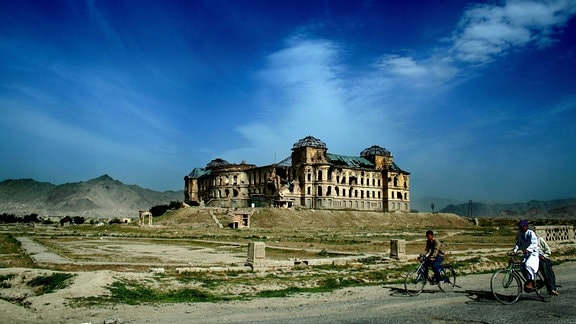 Dar-ul-Aman-Palast Ruine, 2006