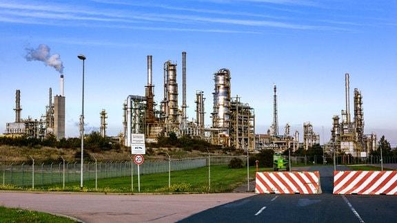 Total Raffinerie Mitteldeutschland GmbH im Chemie-Park Leuna