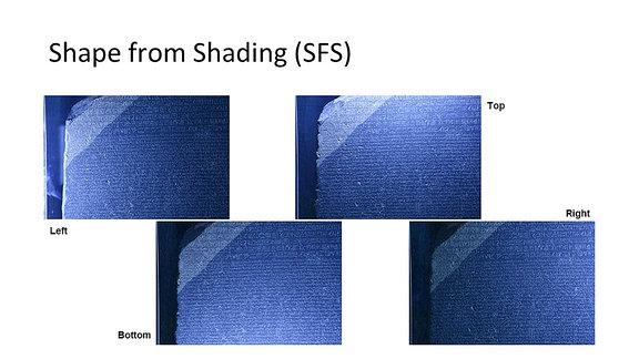 The Digital Rosetta Stone Project - Fotos mit Licht von vier Seiten