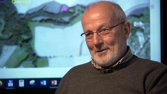 Dr. Dirk-Roger Eisenhauer vom Sachsenforst