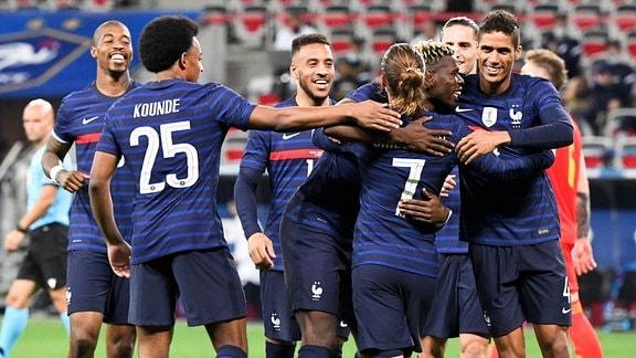EM Team Frankreich