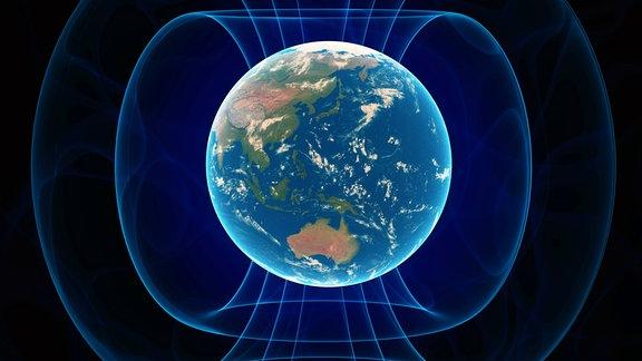 Magnetosphäre der Erde, Erdmagnetfeld