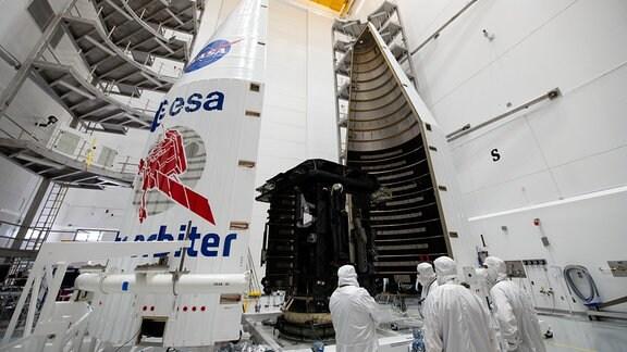 Solar Orbiter wird startklar gemacht