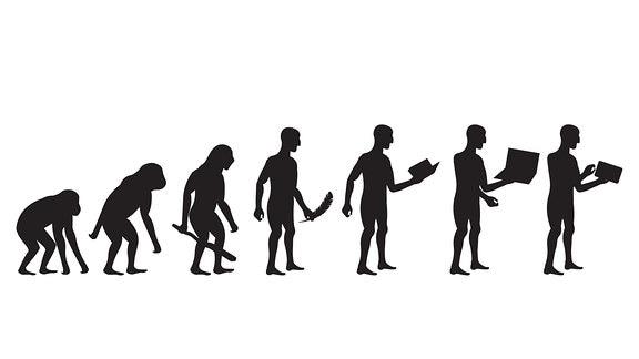 Evolution, vom Affen zum Menschen