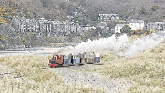 Die Fairbourne & Barmouth Railway