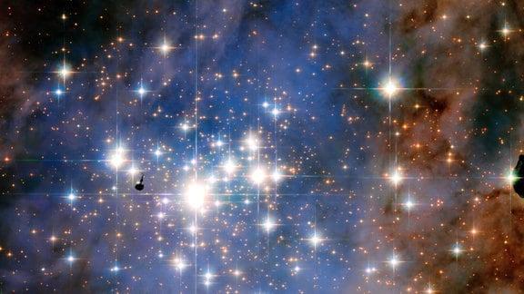 Der Sternhaufen Trumpler