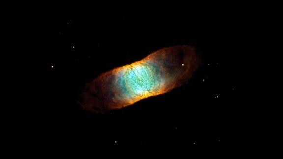 Ein symmetrischer Planetennebel