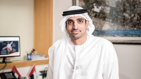 Omran Sharaf, EMM-Projektdirektor bei Hope Probe