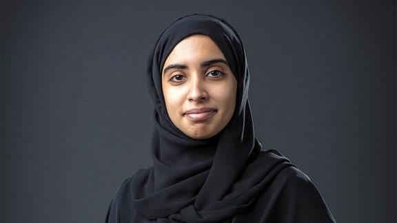 Hessa Al Matroushi, wissenschaftliche Leiterin der arabischen Mars-Mission Hope Probe