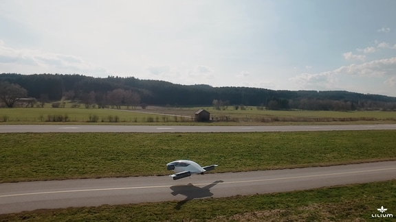 Lilium - Elektroflugzeug