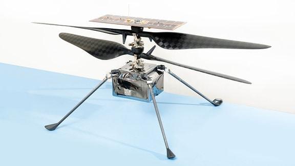 Der Mars-Hubschrauber Ingenuity von der US-amerikanischen Weltraumbehörde NASA