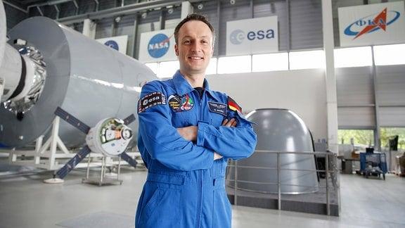 Astronaut Matthias Maurer