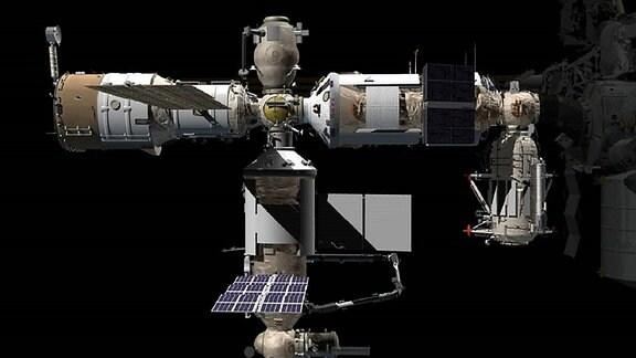 Das neue Forschungsmodul Nauka an der ISS