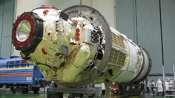 Das neue Wissenschaftsmodul der ISS