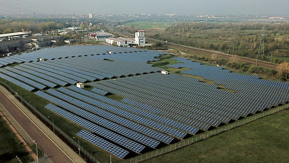 Bruckdorf Photovoltaikanlage bei Halle