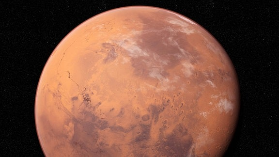 Illustration des Planeten Mars.