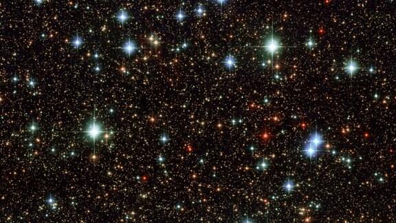 Die Milchstraße in Richtung Sternbild Schütze